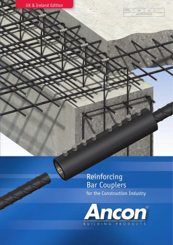 Reinforcing Bar Couplers (UK & Ireland Edition)