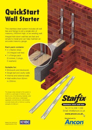 Staifix QuickStart Wall Starter System