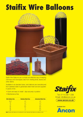 Staifix Wire Balloons