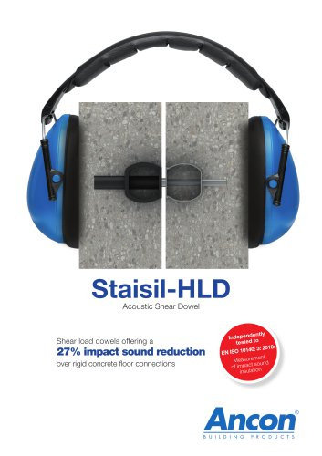 Staisil HLD Acoustic Shear dowels