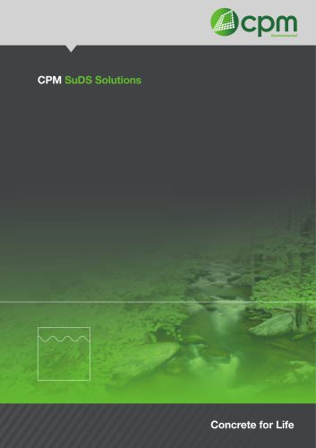 CPM SuDS Solutions
