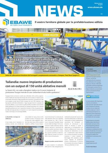 Il vostro fornitore globale per la prefabbricazione edilizia