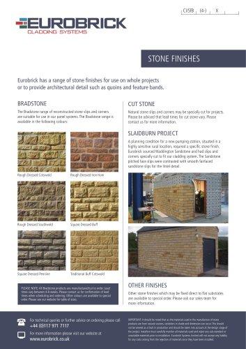 Eurobrick Stone Finishes