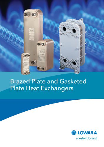 Brazed Plate and Gasketed Plate Heat Exchangers