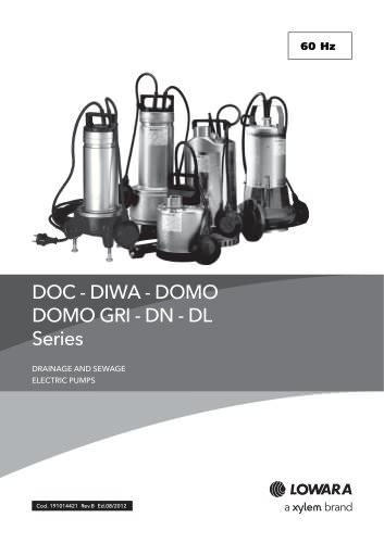 DOC - DIWA - DOMO - DOMO GRI - DN - DL Series 60 Hz