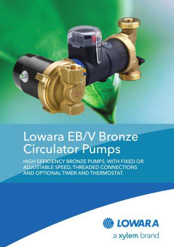 EB/V Bronze Circulator Pumps