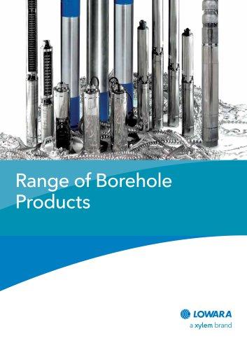 Range of Borehole Products