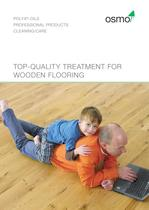 Top-qualiTy TreaTmenT for wooden flooring