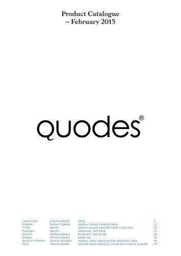Product catalogue February 2015