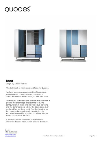 Product Specifications TECA