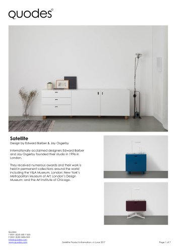 Satellite cabinets