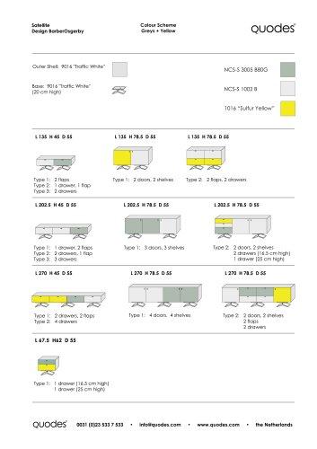Satellite Colour Schemes