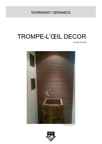 NORMANDY CERAMICS - TROMPE L'OEIL