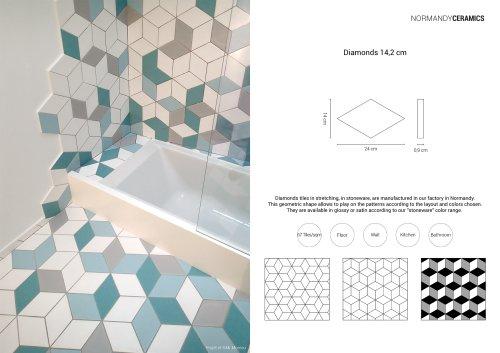 Product sheet-Diamonds-Normandy Ceramics