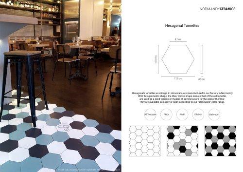 Product sheet-Hexagonal-Tomettes-Normandy Ceramics
