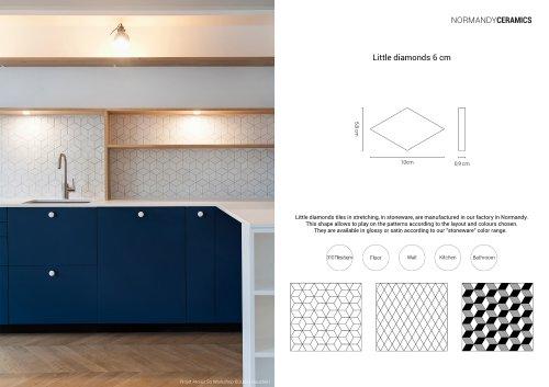 Product sheet-Little-diamonds-Normandy Ceramics