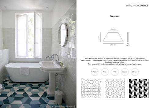 Product sheet-Trapèzes-Normandy Ceramics