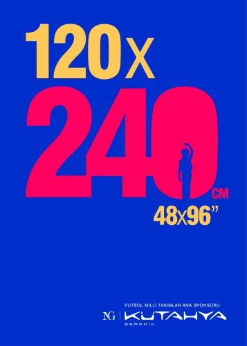 120x240 Cm Catalog