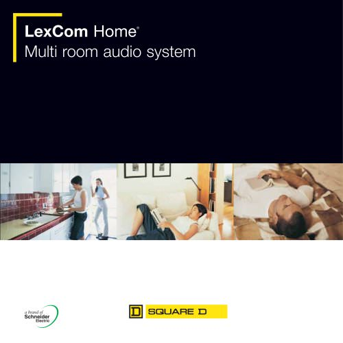 LexCom Audio - Multi room audio system