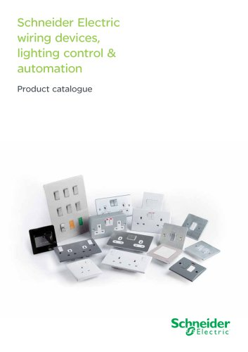Schneider Electric wiring devices, lighting control & automation