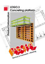 LOGO.3 Concreting platform - Product Information