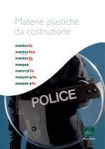 Materie Plastiche de Costruzione Brochure
