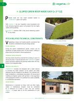 H. SLOPED GREEN ROOF MADE EASY