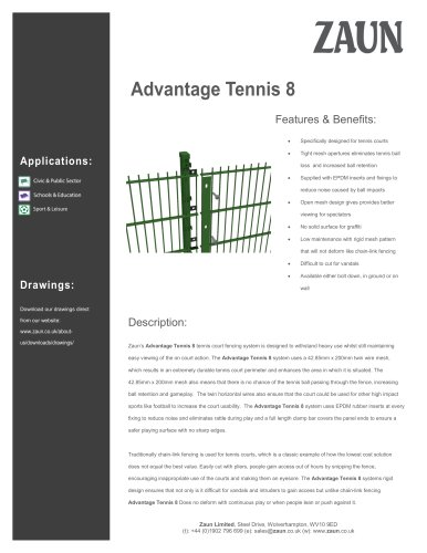 Advantage Tennis 8