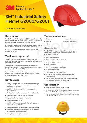 3M™ Industrial Safety Helmet G2000/G2001