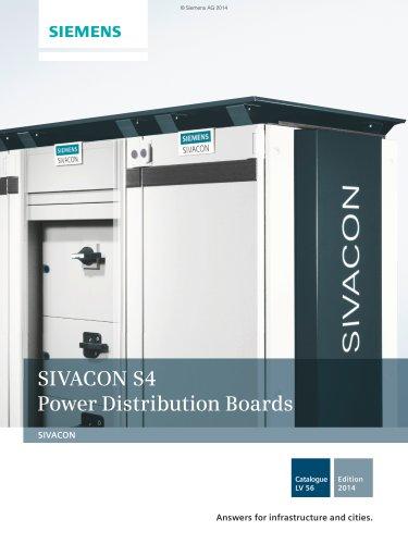 Catalogue LV 56 - 2014 - SIVACON S4 Power Distribution Boards