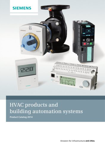 HVAC products and building automation systems