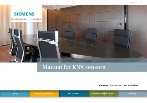 Installation guide KNX sensors