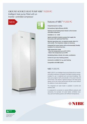 GROUND SOURCE HEAT PUMP NIBE™ F1255 PC