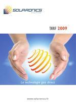 Catalogue Solaronics 2009