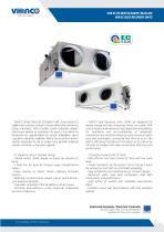 VHR EC Heat Recovery Units