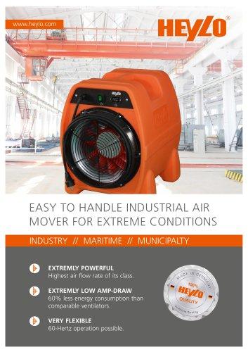 pdf Flyer - Industrial ventilator PowerVent 4000-e