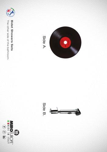 SHOWER BIDET CD BY MIRO EUROPE