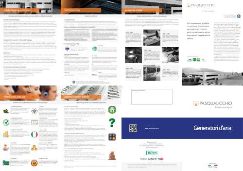 Brochure Generatori d'Aria
