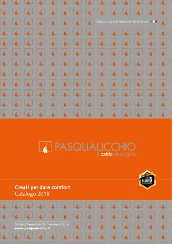 Pasqualicchio products. Boiler, hot air generators, stoves and thermo-stoves.