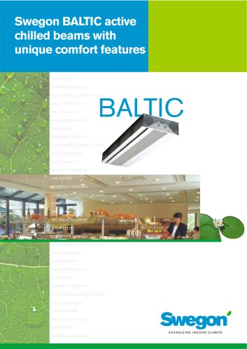 Baltic, active chilled beams