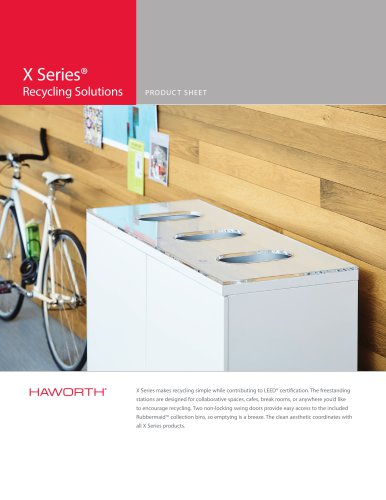 X Series Recycling Bins