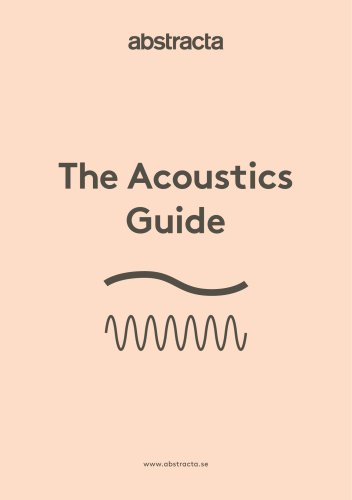 The acoustics guide