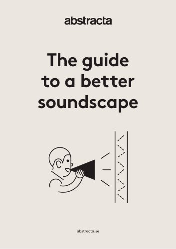 The guide to a better soundscape