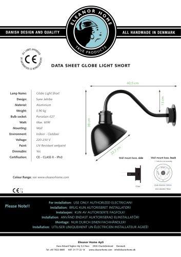 Globe Light, Short