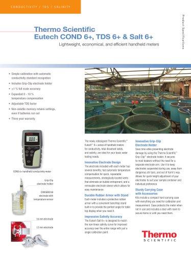 COND 6+, TDS 6+ & Salt 6+