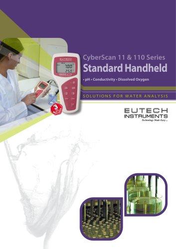 CyberScan 11 & 110 Series Standard Handheld