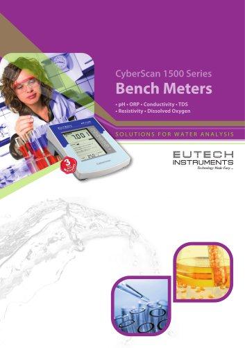CyberScan 1500 Series Bench Meters