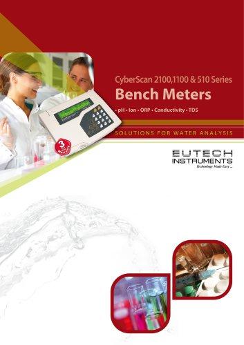 CyberScan 2100,1100 & 510 Series Bench Meters