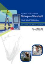 CyberScan 600 Series Waterproof Handheld