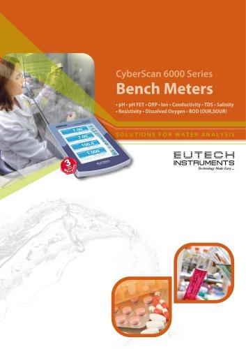 CyberScan 6000 Series Bench Meters